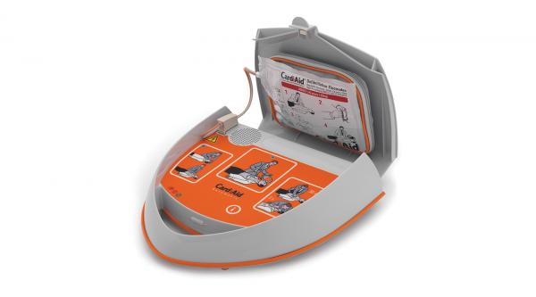 CardiAid AED hjertestarter fuldautomatisk